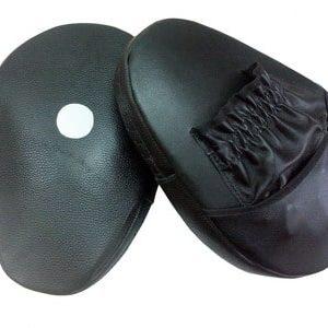 лапы боксерские кожа